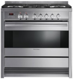 "OR36SDPWGX1N Fisher & Paykel 36"" Pro-Style Dual Fuel Range with 5 Sealed Burners, 4.0 cu. ft. Convection Oven - Stainless Steel"