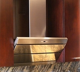 "ORIZ36SS Faber Designer Collection 36"" Orizzonte Wall Hood - Stainless Steel"