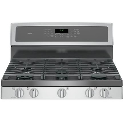 """P2B940SEJSS GE Profile Series 30"""" Dual-Fuel Free-Standing Convection Range with Warming Drawer - Stainless Steel"""