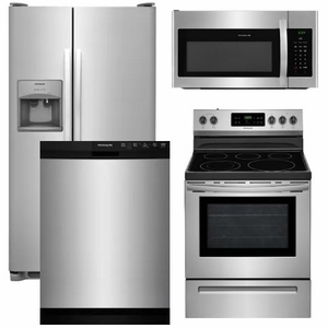 Package 13 Frigidaire Liance 4 Piece With Electric Range Stainless Steel