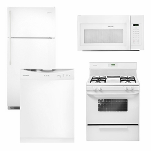 package 18   frigidaire appliance package   4 piece appliance package with gas range   white 18   frigidaire appliance package   4 piece appliance package with      rh   us appliance com
