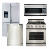 Package 21 - Dacor Ultimate Kitchen Package with Gas Range - Stainless Steel