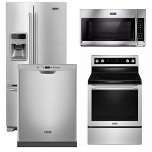 package 28   maytag appliance package   4 piece appliance package with electric range   free microwave   stainless steel 28   maytag appliance package   4 piece appliance package with      rh   us appliance com