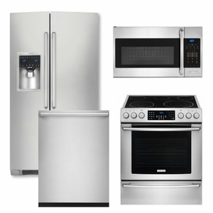 High Quality Package 30   Electrolux Appliance Package   4 Piece Appliance Package With  Electric Range   Stainless Steel