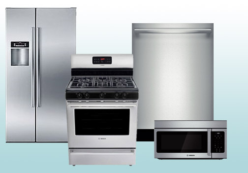Builders Package Kitchen Appliances