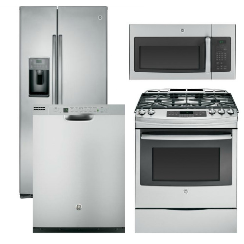 Reviews For Package 5 Ge Appliance Package 4 Piece