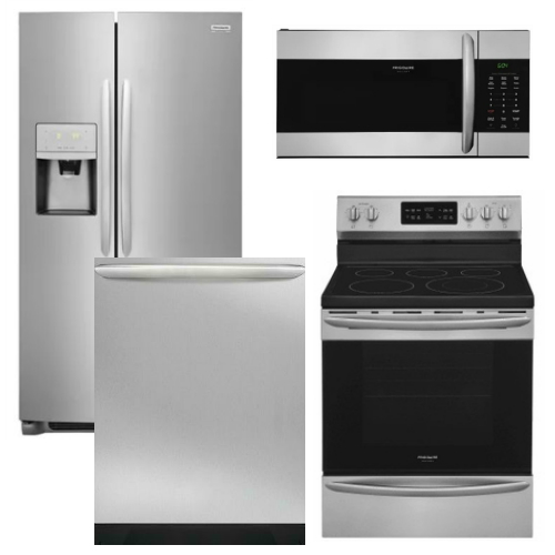 Kitchenaid 4 Piece Kitchen Appliance Package With Electric: Frigidaire Appliance Gallery Package