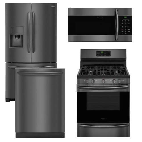 Package FGBS2 - Frigidaire Appliance Package - 4 Piece Appliance ...