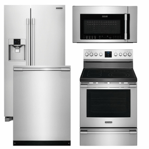 Package FP1 - Frigidaire Appliance Professional Package - 4 Piece ...