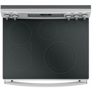 """PB980SJSS GE Profile Series 30"""" Free-Standing Double Oven Convection Range with Edge-to-edge Cooktop - Stainless Steel"""