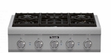 "PCG305P Thermador 30"" Proffesional Series Range Top with 5 Sealed Burners - Stainless Steel"