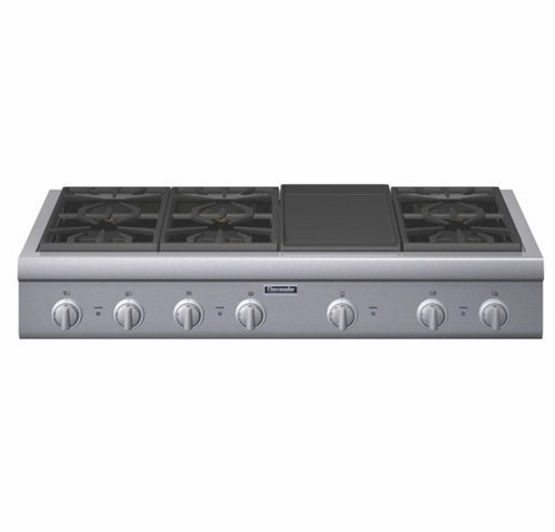 Pcg486gd Thermador 48 Pro Gas Cooktop