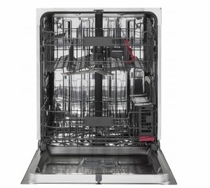 "PDT825SGJBB GE 24"" Profile Series Stainless Steel Interior Dishwasher with Hidden Controls and Hidden Vent - Black - CLEARANCE"