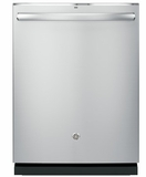 "PDT825SSJSS GE 24"" Profile Series Stainless Steel Interior Dishwasher with Hidden Controls and Wi-Fi Connect - Stainless Steel"