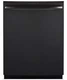 "PDT855SMJES GE 24"" Profile Series Stainless Steel Interior Dishwasher with Hidden Controls and Wi-Fi Connect - Black Slate"
