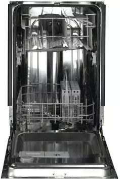 "PDW1800KBB GE 18"" Fully Integrated Dishwasher with Glasses Cycle and Bright Annealed Stainless Steel Interior - Black"