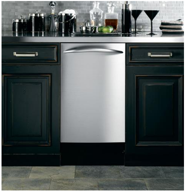 """PDW1860KSS GE 18"""" Fully Integrated Dishwasher with 7 Wash Cycles and 8 Place Setting Capacity - Stainless Steel"""