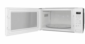 """PEB7227DLWW GE 24"""" Profile Series 2.2 cu. ft. Built-In Microwave with Control Lockout and Sensor Cook - White"""