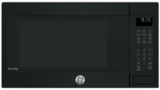 """PEB9159DJBB GE 22"""" Profile Series 1.5 cu. ft. Countertop Convection Microwave Oven with 1,000 Watts and 10 Power Levels - Black"""