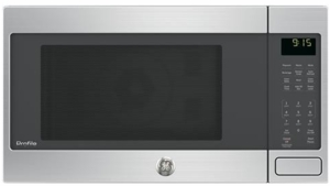"PEB9159SJSS GE 22"" 1.5 cu. ft. Countertop Convection Microwave Oven with 1,000 Watts and 10 Power Levels - Stainless Steel"