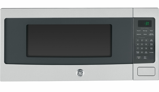 PEM31SFSS GE Profile 1.1 Cu. Ft. Countertop Microwave with Sensor Cooking - Stainless Steel
