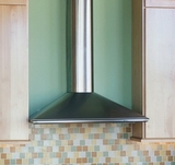 "PERL30SS Faber Decorative Collection 30"" Perla Wall Hood - Stainless Steel"