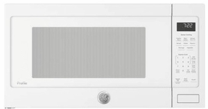 """PES7227DLWW GE 24"""" Profile Series 2.2 cu. ft. Countertop Microwave with Control Lockout and Sensor Cook - White"""