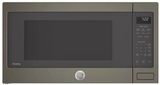 "PES7227ELES GE 24"" Profile Series 2.2 cu. ft. Countertop Microwave with Control Lockout and Sensor Cook - Slate"