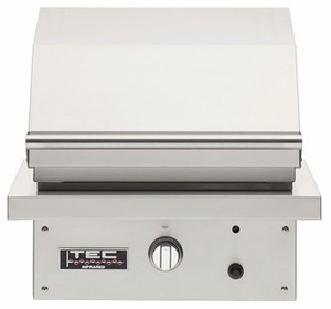 """PFR1NT TEC Infrared 26"""" Patio FR Series Natural Gas Built-In Grill with Rapid Preheat and Self-Cleaning Cooking Surface - Stainless Steel"""