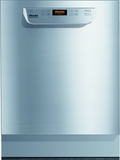 "PG8061-208 Miele Professional 24"" Commercial Dishwasher - 208 Volt - ADA Compliant - Stainless Steel"