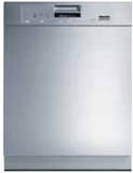 "PG8080i240 Miele ProfiLine Full Size 24"" Dishwasher with Visible Control Panel - 240 Volt - Custom Panel"