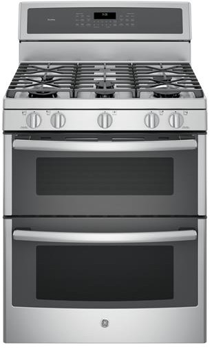 Reviews for pgb980zejss ge profile series 30 free standing gas double oven convection range - Gas stove double oven reviews ...