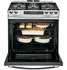 "PGS920SEFSS GE Profile Series 30"" Slide-In Gas Range with Warming Drawer - Stainless Steel"