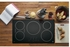 """PHP9036DJBB GE Profile Series 36"""" Built-In Touch Control Induction Cooktop with 5 Induction Elements - Black"""