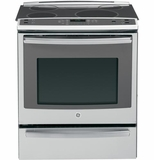 "PHS920SFSS GE  Profile 30"" Slide-in Induction and Convection Range with Warming Drawer - Stainless Steel"