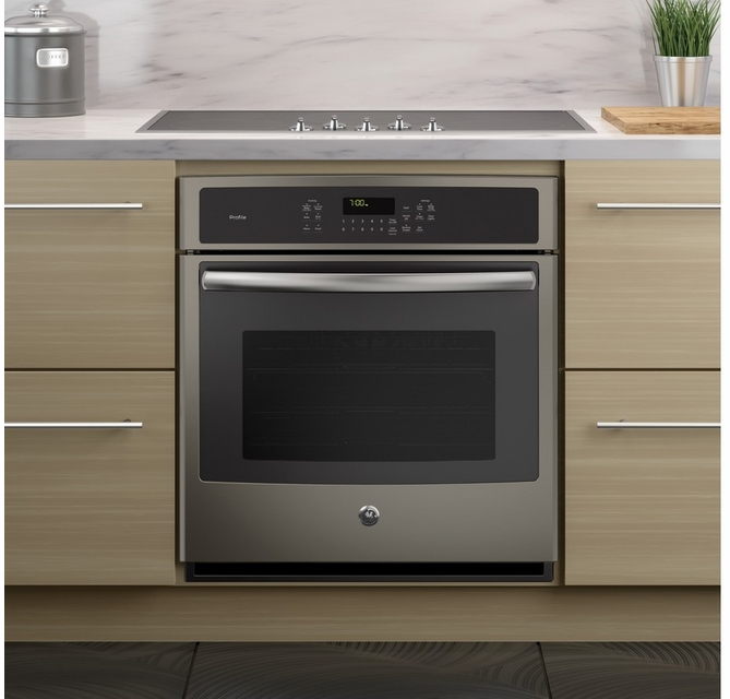 GE PK7000EJES 27 Slate Electric Single Wall Oven Wall Ovens ...