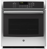 """PK7000SFSS GE Profile Series 27"""" Built-In Single Convection Wall Oven - Stainless Steel - CLEARANCE"""