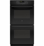 "PK7500DFBB GE Profile Series 27"" Built-In Double Convection Wall Oven - Black"