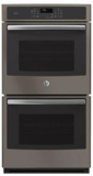 "PK7500EJES GE Profile 27"" Double Electric Convection Wall Oven - Slate"