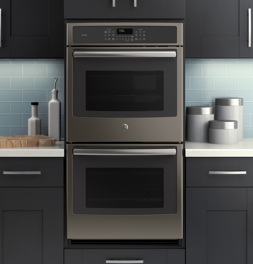ge profile double oven electric convection wall slate manual gas range parts