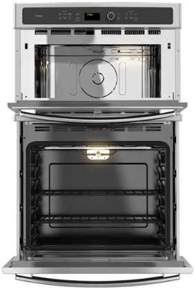 "PK7800SKSS 27"" Built-in Combination Double Wall Oven/Microwave with Steam Self-clean option and True European Convection - Stainless Steel"