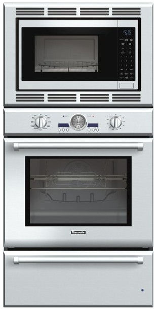 Podmw301j Thermador 30 Inch Professional Series Triple Oven Convection Microwave And Warming Drawer Stainless Steel