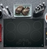 """PP9030DJBB GE Profile Series 30"""" Built-In Touch Control Electric Cooktop - Black"""