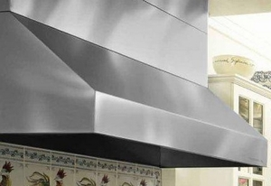 PRH18-348SS Vent-A-Hood Pro Series Wall Mount Hood with Dual & Single Blowers (900 CFM) 48 Inch - Stainless Steel