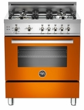 "PRO304GASAR01 Bertazzoni Professional Series 30"" All Gas Range - Orange"