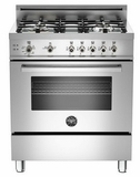 "PRO304GASX Bertazzoni Professional Series 30"" All Gas Range - Stainless Steel"