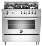 "PRO365GASX Bertazzoni Professional Series 36"" All Gas Range - 5 Burners - Stainless Steel - OPEN BOX ITEM"