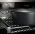 "PRO366DFSNE Bertazzoni Professional Series 36"" Dual Fuel  6 Gas Burner Range + Electric Self Clean Oven - Black"