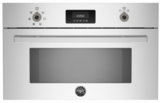 "PROCS30X Bertazzoni 30"" Steam Oven with 1.34 Cu. Ft. Capacity Convection Cook System Broiler Option - Stainless Steel"