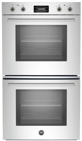 "PROFD30XT Bertazzoni 30""  Double Wall Oven with 8.2 Total Cu. Ft. Capacity 7 Rack Positions Dual Convection Fan System - Stainless Steel"